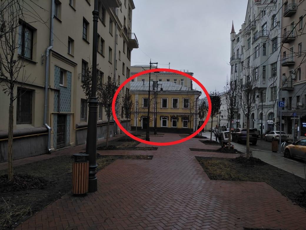 Общепит в аренду по адресу Россия, Москва, Москва, Благовещенский переулок, 10стр2
