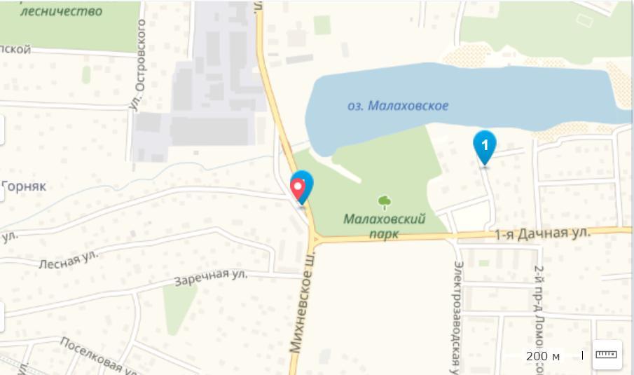 Участок на продажу по адресу Россия, Московская обл, Люберецкий р-н, рабочий поселок Малаховка, Михневское шоссе