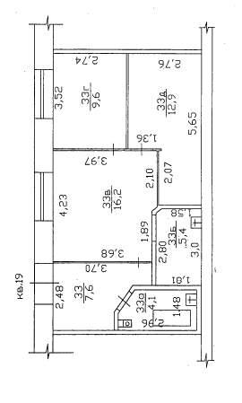 Продажа  комнаты им Газинура Гафиатуллина переулок, д.2