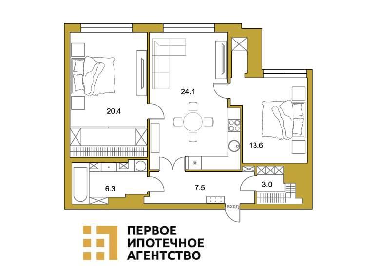 Пискарёвский проспект, д.1
