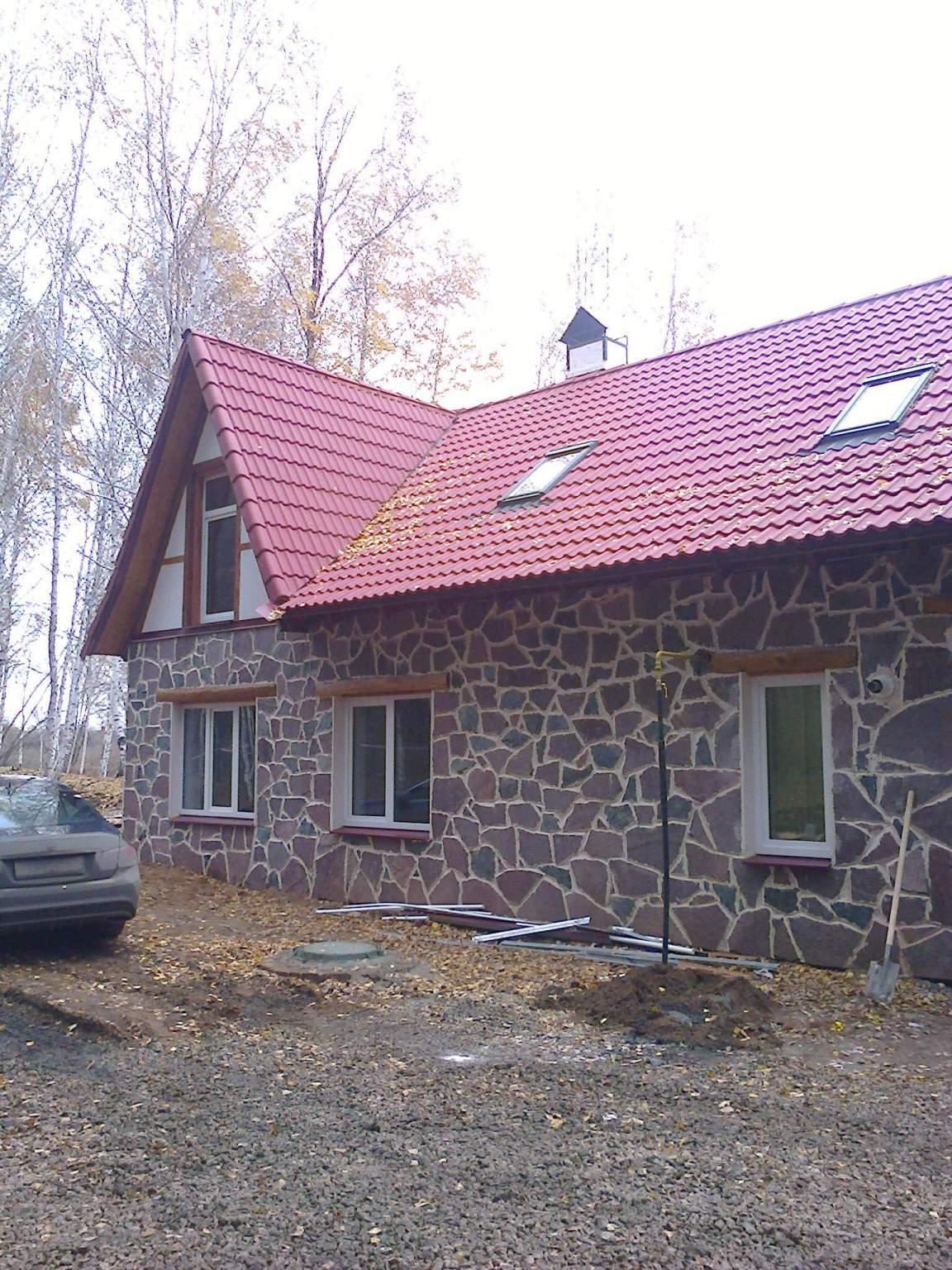 Сдается новый дом на опушке соснового