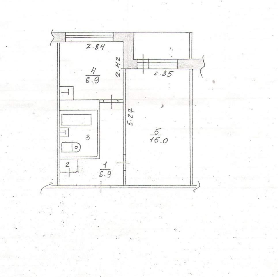Продажа 1-к квартиры Мира проспект, д.90