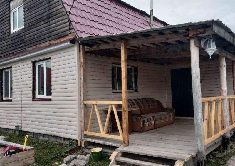 Продажа дома, 100м <sup>2</sup>, 8 сот., Тюмень, СНТ Липовый остров территория