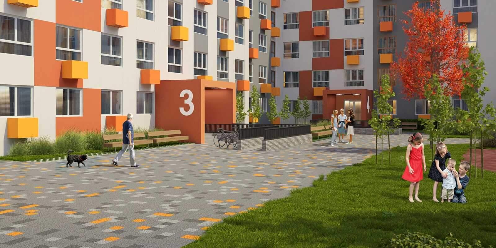 Продажа 1-комнатной новостройки, Глухово, жилой комплекс Новая Рига территория,  д.к. 1.4