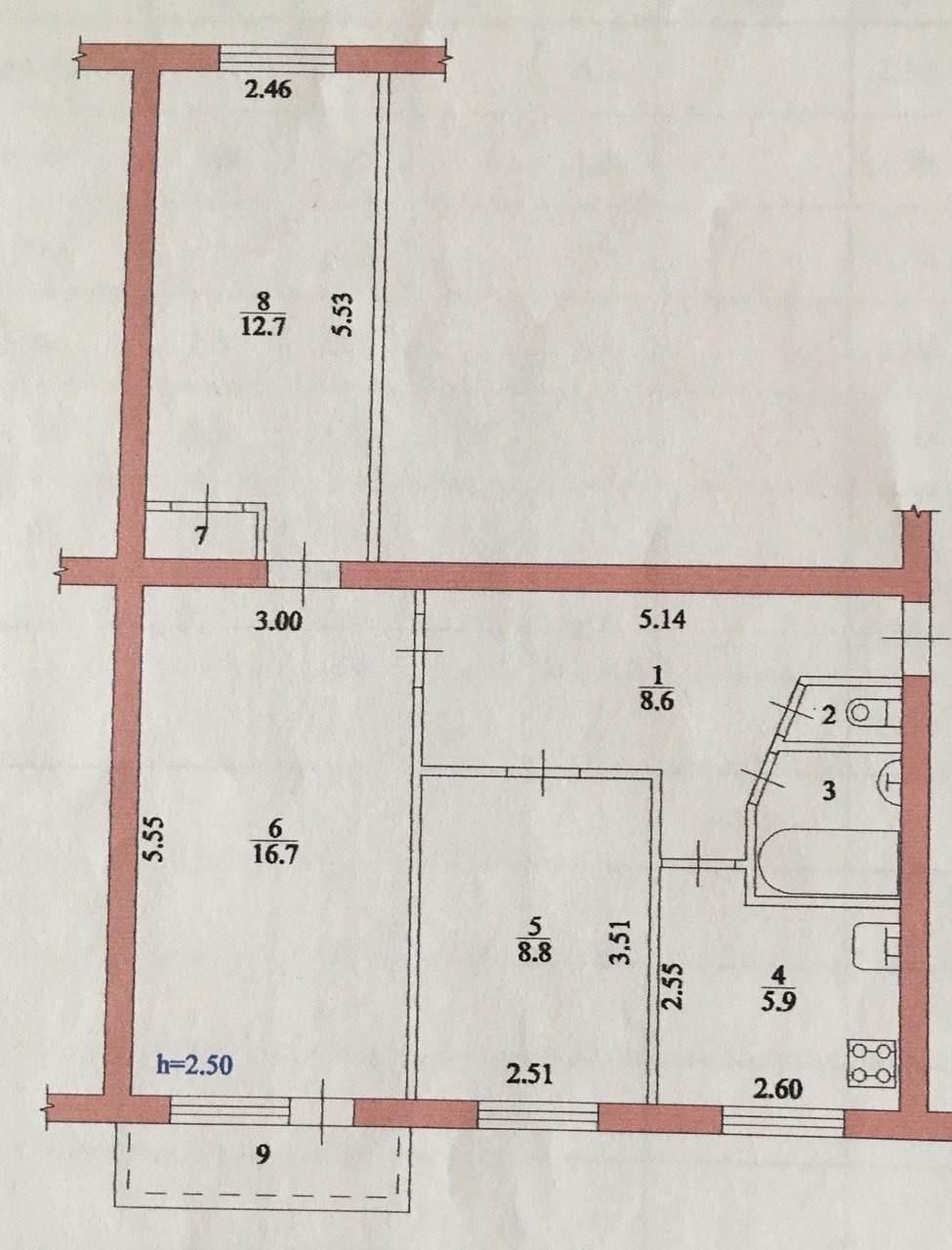 Продажа 3-комнатной квартиры, Волгоград, Социалистическая улица,  влд20А