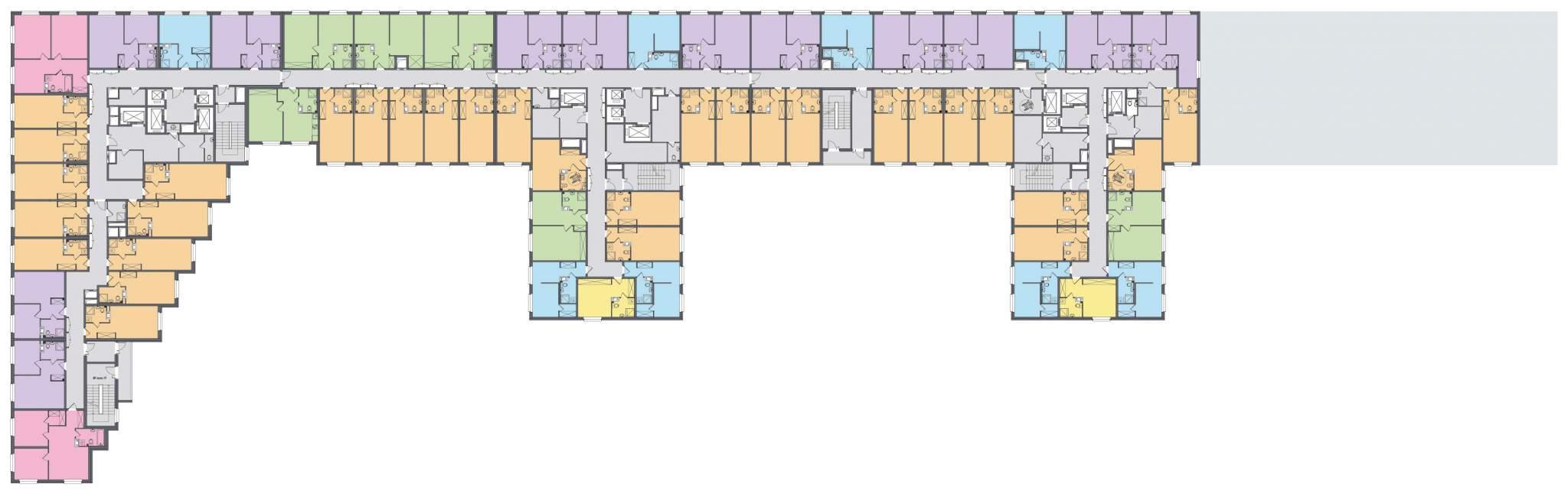 Продажа 1-комнатной новостройки, Санкт-Петербург, Витебский проспект,  д.101к1