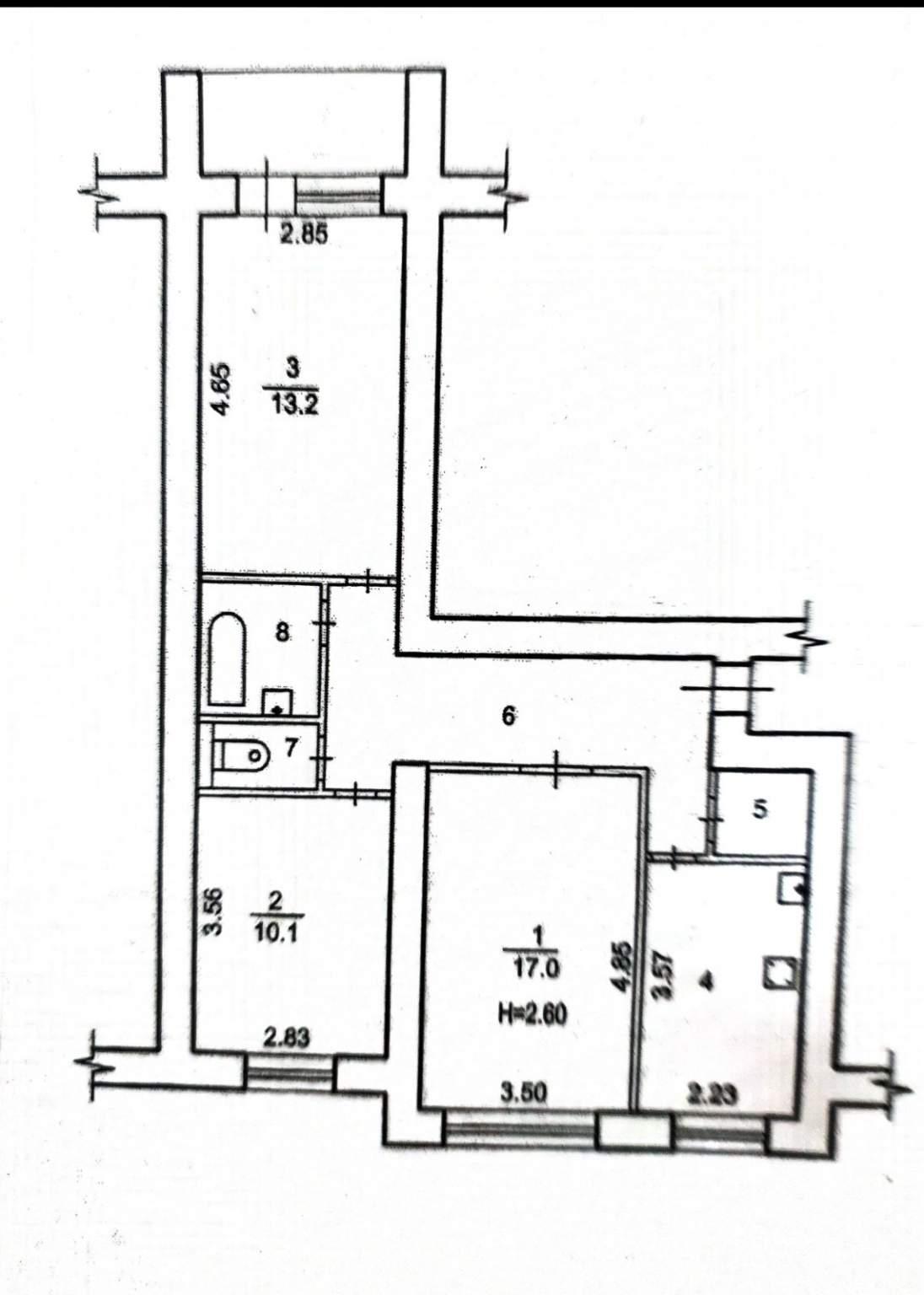 Продажа 3-комнатной квартиры, Волгоград, им Менжинского,  д.25