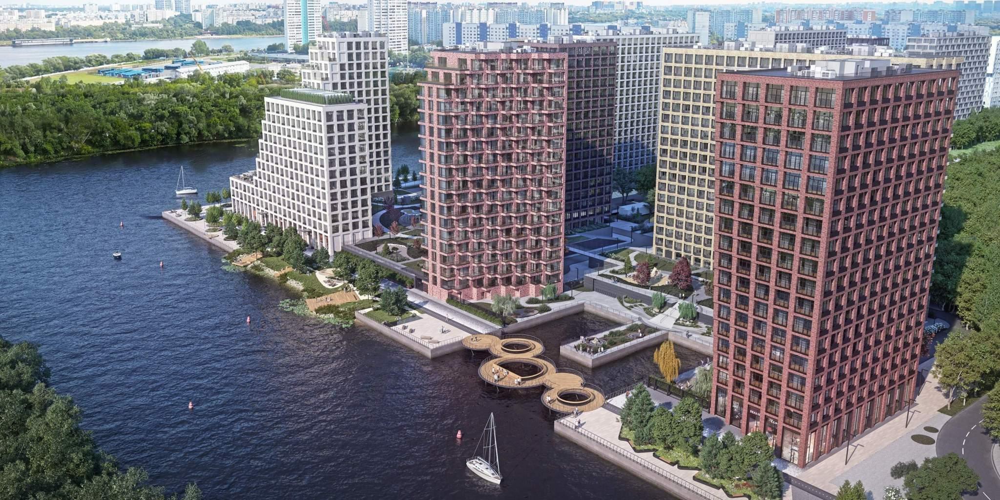 Продажа 4-комнатной новостройки, Москва, жилой комплекс Ривер Парк,  д.к4