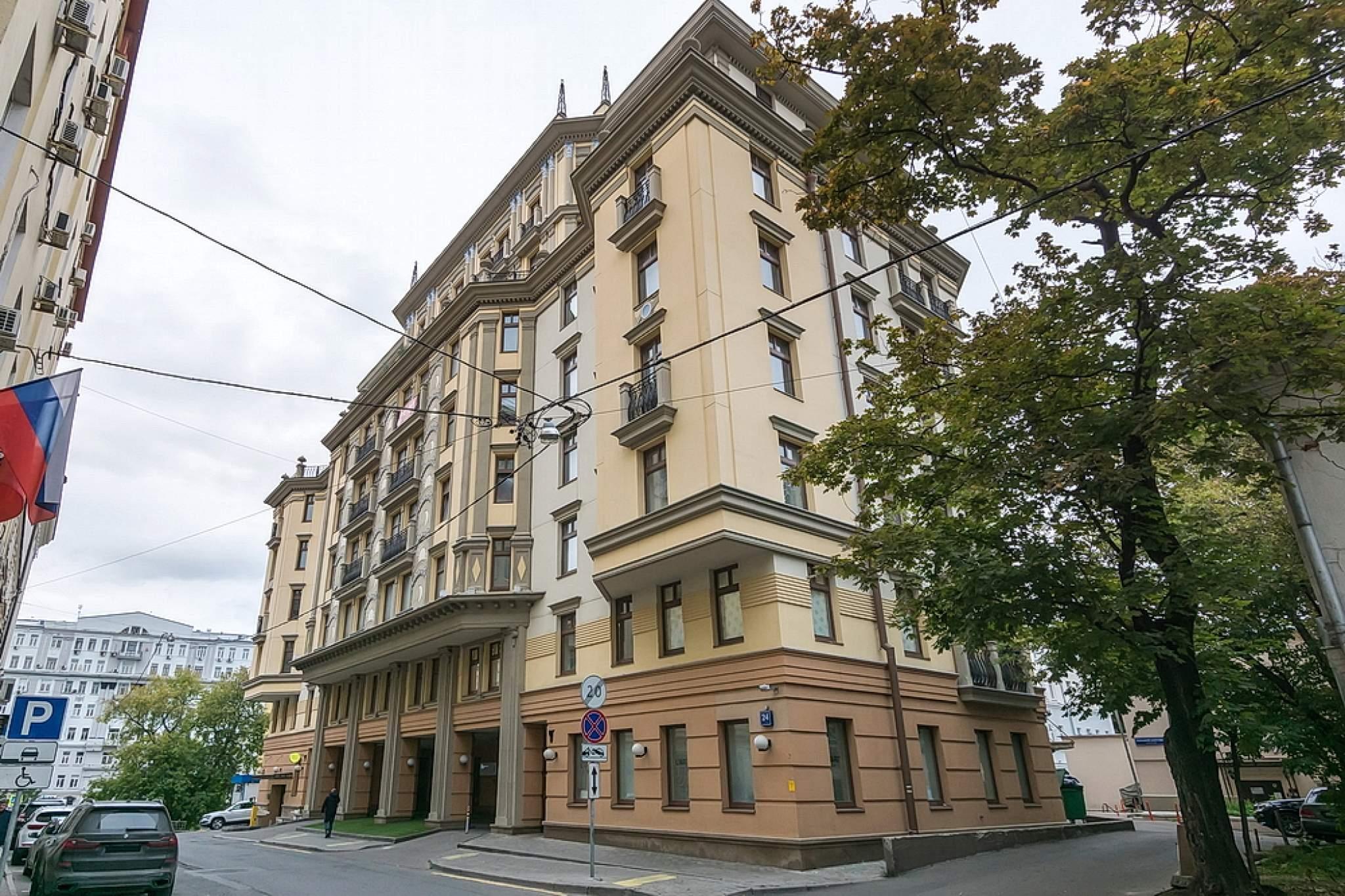 Продажа 2-комнатной квартиры, Москва, Каретный Б.,  д.24 стр.2