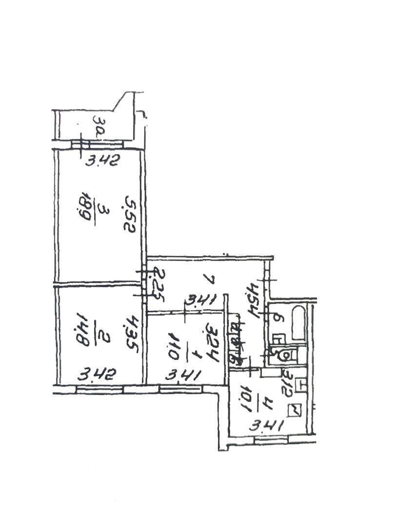 Продажа 3-комнатной квартиры, Москва, Осенний бульвар,  д.15